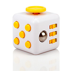 billige Håndspinnere-Fidgetleke til kontoret Fidgetkube Lindrer ADD, ADHD, angst, autisme Office Desk Leker Focus Toy Stress og angst relief for Killing Time