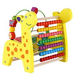 Vzdělávací hračka Počitadlo Hračky Jelen Žirafa Korálky Pieces Děti Dětské Chlapecké Dívčí Dárek