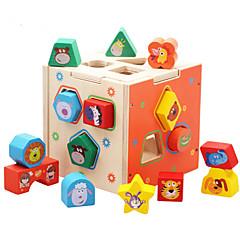 Puzzle Vzdělávací hračka Stavební bloky DIY hračky 1