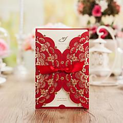 abordables Invitations de Mariage-Format Enveloppe & Poche Invitations de mariage Faire-Parts de Fiançailles Cartes de partie de célibataire ensembles de Faire-Part Cartes
