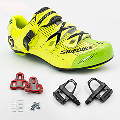 BOODUN/SIDEBIKE® Road Bike Shoes Cycling Shoes With Pedal & Cleats Anti-Shake/Damping Cushioning Breathable Ultra Light (UL) Outdoor Road Bike