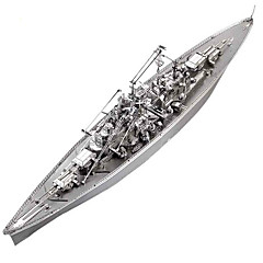 cheap -3D Puzzle / Jigsaw Puzzle / Metal Puzzle Warship / Aircraft Carrier / Battleship DIY / Classic Boys' Gift