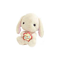 baratos -Rabbit Stuffed Toys Bonecas Almofadas Animais de Pelúcia Fofinho Adorável Para Meninos Para Meninas