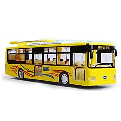 Carrinhos de Fricção Carros de brinquedo Modelos Pré-Construídos e Diecast Ônibus Brinquedos Ônibus Liga de Metal Metal Peças Infantil