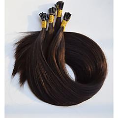 Χαμηλού Κόστους Εξτένσιον από Ανθρώπινη Τρίχα-διπλό που τα ανθρώπινα μαλλιά επεκτάσεις χρώμα # 530 i άκρη επεκτάσεις ανθρώπινα μαλλιών