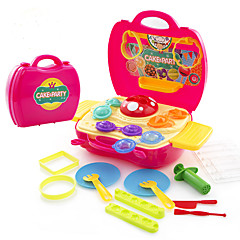 Hrajeme si na... Barevný sliz Hrajte těsto, plastin a tmel Hračky Nábytek 3D Udělej si sám Děti 1 Pieces