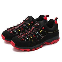 LEIBINDI Baskets Chaussures de Randonnée Chaussures de Course Homme Antidérapant Anti-Shake Antiusure Extérieur Basses Cuir NubuckEVA