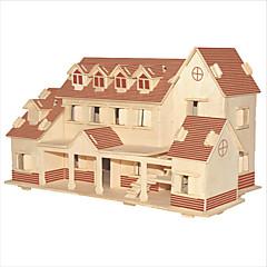 DIY 키트 조립식 블럭 3D퍼즐 교육용 장난감 직쏘 퍼즐 나무 퍼즐 장난감 광장 유명한 빌딩 중국건축물 집 남성용 여성용 아동 여성 규정되지 않음 커플용 아동용 남성 남여 공용 남아 여아 1 조각