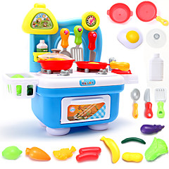 Hrajeme si na... Toy kuchyňských sestav Hračka nádobí a čajové soupravy Toy Foods Hračky Kulatý Chlapecké Dívčí Pieces