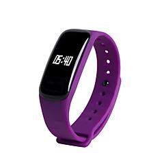 billige Smartklokker-YYM8 Smart armbånd Android iOS Bluetooth Sport Vanntett Pulsmåler Blodtrykksmåling Pekeskjerm Samtalepåminnelse Aktivitetsmonitor Søvnmonitor Stillesittende sittende Påminnelse Dobbel Tidssone