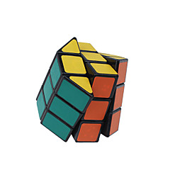 tanie Kostki Rubika-Kostka Rubika Ośmiokątna kolumna 3*3*3 Gładka Prędkość Cube Magiczne kostki Puzzle Cube Naklejka gładka Prezent Unisex