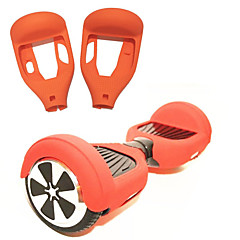 cheap Scooters, Skateboarding & Rollers-Electric Scooter Protective Silicone Case Hoverboard Skin Case Cover 6.5 Inch Silicon for Hoverboard