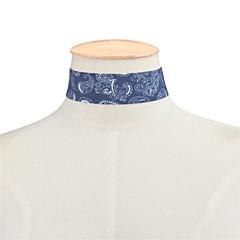 billige Halsbånd-Dame Enlig Snor Kort halskæde - Basale, minimalistisk stil, Mode Mørkeblå, Lyseblå Halskæder Smykker Til Daglig, Afslappet