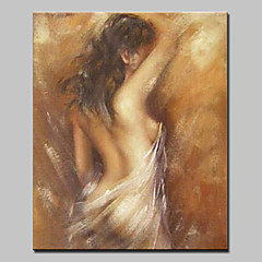 Χαμηλού Κόστους Nude Art-mintura® ζωγραφισμένο στο χέρι σύγχρονη αφηρημένη γυμνή ζωγραφική ελαιογραφίας κοριτσιού σε τέχνη τοίχου καμβά για διακόσμηση σπιτιού έτοιμη να κρεμάσει