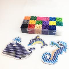 Sets zum Selbermachen Bildungsspielsachen Holzpuzzle Kunst & Malspielzeug Spielzeuge Delphin Fische Pferd Clown Meerestier EVA Stücke