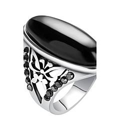 uttalelse Ringe Ring Unikt design Mote Vintage Personalisert Euro-Amerikansk Luksus Smykker Erklæringssmykker Harpiks LegeringRund Form