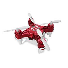 RC Drone 124C 4 Kanaler 6 Akse 2.4G Med 2,0 M HD-kamera Fjernstyrt quadkopter LED-belysning En Tast For Retur Auto-Takeoff Hodeløs Modus
