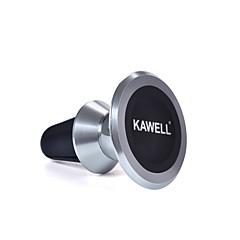 halpa -kawell universaali magneettinen puhelimen autoteline alumiini tuulettimeen matkapuhelin haltija 360 astetta säädettävissä iphone samsung