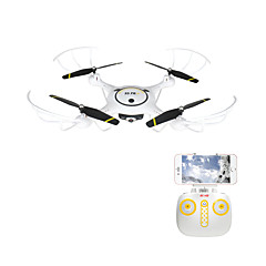 RC Drone X5UV 4 Kanaler 6 Akse 2.4G Med 2,0 M HD-kamera Fjernstyrt quadkopter FPV LED-belysning En Tast For Retur Auto-Takeoff Hodeløs