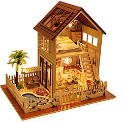 Sada na domácí tvoření Music Box Domek pro panenky Hračky Udělej si sám Obdélníkový Dřevo Pieces Pánské Unisex Vánoce Narozeniny Dárek
