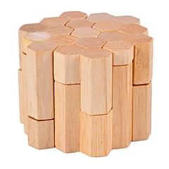 preiswerte -Holzpuzzle Knobelspiele Luban Geduldspiel Zylinderförmig Intelligenztest Holz Unisex Geschenk