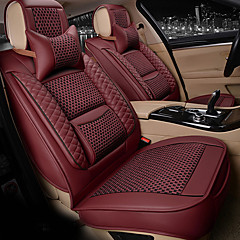 Seagull Pattern silkLeatherwearBusiness Car 7 Seater Van Seven Car seat Cushion Leather Four Seasons Cushion Seat Cover
