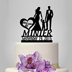 Decorações de Bolo Personalizado Casal Clássico Acrilíco Casamento Aniversário Despedida de Solteira Chá de BébeTema Jardim Tema Clássico