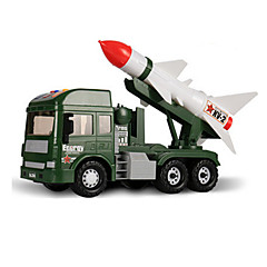 Carrinho de Fricção Carrinhos de Fricção Carros de brinquedo Veiculo de Construção Veículo Militar Brinquedos Pato Charrete 6 Peças