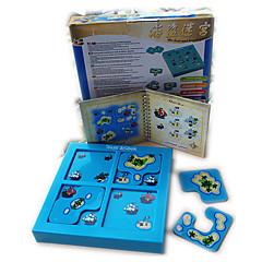 Holzpuzzle Labyrinth & Puzzles Matze Spielzeuge Quadratisch Kinder Unisex Stücke