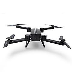 billige Fjernstyrte quadcoptere og multirotorer-RC Drone SJ  R/C X8T 4 Kanaler 6 Akse 2.4G Med HD-kamera 0.3MP Fjernstyrt quadkopter FPV LED Lys Auto-Takeoff Hodeløs Modus Tilgang