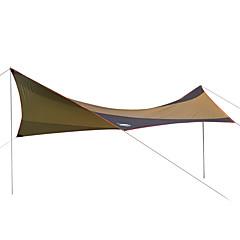 billige Telt og ly-DesertFox® Lytelt Beskyttelse & Presenning Enkelt camping Tent Ett Rom Brette Telt Vanntett Ultraviolet Motstandsdyktig Regn-sikker
