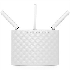 Tenda smart wireless Router 1900mbps Dual-Band Gigabit Faser Wifi Router ac15