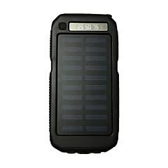 billige Eksterne batterier-strømbank eksternt batteri 5V #A Batterilader Lommelykt Flere utganger Solenergilading LED
