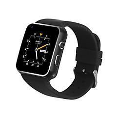tanie Inteligentne zegarki-Inteligentny zegarek X6S-3G na Android Spalonych kalorii / Długi czas czuwania / Odbieranie bez użycia rąk / Ekran dotykowy / Wodoszczelny / Wodoodporny Stoper / Krokomierz / Powiadamianie o