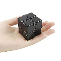 billige Håndspinnere-Evighetskube / Håndspinnere / Fidgetleker for Killing Time / Stress og angst relief / Focus Toy Nyhet Metallisk / Chrome Deler Unisex