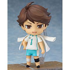 נתוני פעילות אנימה קיבל השראה מ Haikyuu Oikawa Tooru 10 CM צעצועי דגם בובת צעצוע