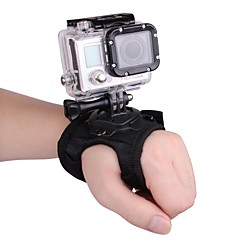 tanie Akcesoria do GoPro-Akcesoria / Opaska na nadgarstek Wygodny Dla Kamera akcji Sport DV Płótno