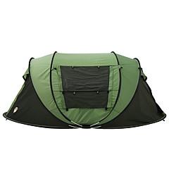 billige Telt og ly-3-4 personer Telt Dobbelt camping Tent Ett Rom Pop opp telt til Camping Reise CM