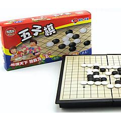 tanie Gra w szachy-Gry planszowe Szachy Gobang Zabawki Magnetyczne Kwadrat Plastikowy Sztuk Dla obu płci Prezent
