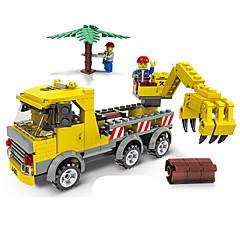 voordelige -JIE STAR Bouwblokken Automatisch / Vrachtwagen / Constructievoertuig Milieuvriendelijk Unisex Geschenk