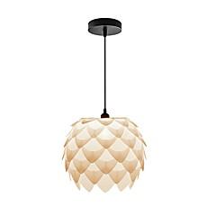billiga Dekorativ belysning-Originella Hängande lampor Fluorescerande Rektangulär Plast designers 220-240V Glödlampa inte inkluderad / E26 / E27