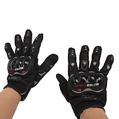 tanie Rękawiczki motocyklowe-Pełny palec Dla obu płci Rękawice motocyklowe Włókno węglowe Oddychający