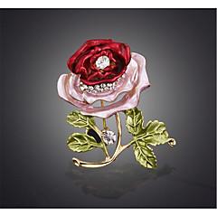 Dame Brocher Blomstret Legering Blomstformet Smykker Til Bryllup Fest Speciel Lejlighed Fest/aften Hverdag Daglig