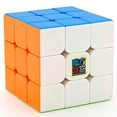 tanie Kostki Rubika-Kostka Rubika MoYu 3*3*3 Gładka Prędkość Cube Magiczne kostki / Gadżety antystresowe / Zabawka edukacyjna Puzzle Cube Naklejka gładka Prezent Unisex