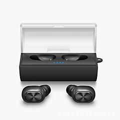 Mini tvillinger ægte trådløs øretelefon bluetooth tws stereo musik airpods stil i øret hovedtelefoner fone de ouvido med opladningsboks