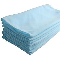 Ziqiao 8 peças / lote 70 * 30cm microfibra carro limpeza toalha multi-função carro lavagem polir toalha de pano limpo a seco