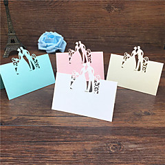 40pcs Bride and Groom Laser Cut Place Cards Wedding Name Cards Guest Name Place Card Wedding Table Decoration