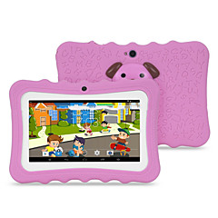 M711 7 inch Android 4.4.2 Quad Core 1024*600 TFT Screen 512M/4G 2500mah Kid Tablet Pink