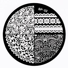 1 tırnak Damgalama Görüntü Şablon Tabaklar Stamper Kazıyıcı