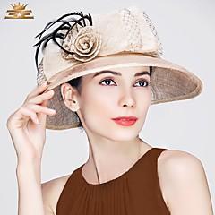 נוצה פשתן כיסוי ראש-חתונה אירוע מיוחד קז'ואל משרד וקריירה כובעים חלק 1